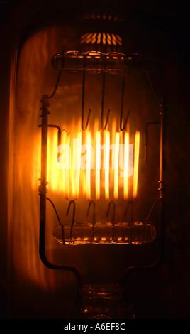 Ampoule filament incandescent Banque D'Images