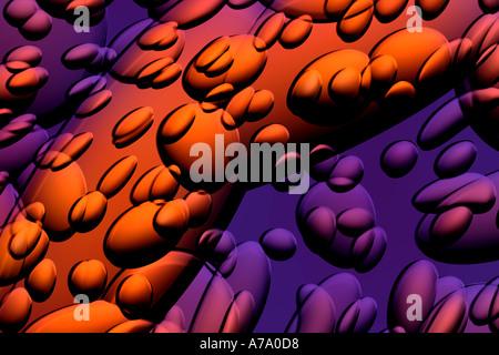 De l'art généré par ordinateur Banque D'Images