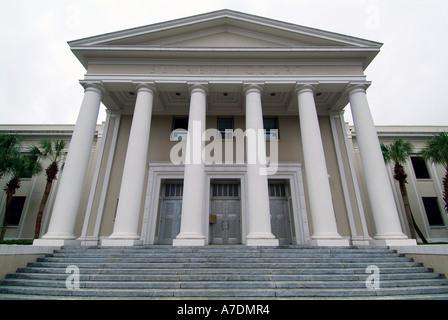 L'Édifice de la Cour suprême de l'État de Floride Tallahassee Banque D'Images