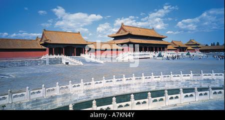 Cité Interdite, Beijing, Chine Banque D'Images