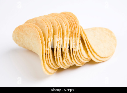Pommes chips Pringles Banque D'Images