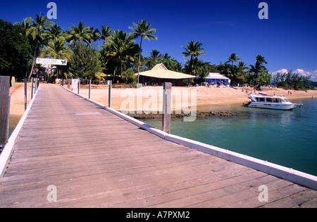 L'Australie, le Queensland, l'île de Dunk situé près de Mission Beach (120 km au sud de Cairns) Banque D'Images