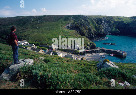 Europe Angleterre MULLION COVE CORNWALL Cornwall Banque D'Images