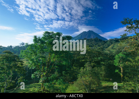 Volcan Arenal Zona Norte Costa Rica Banque D'Images