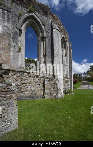 Vestiges d'Abbaye de Margam Park,Port Talbot, Pays de Galles, Royaume-Uni