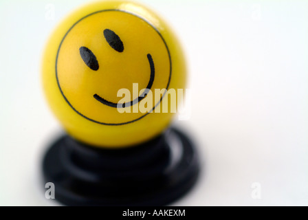 Smiley Face en Banque D'Images