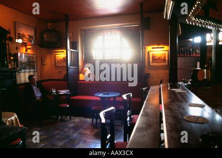 Pub irlandais Péninsule de Beara Irlande Banque D'Images