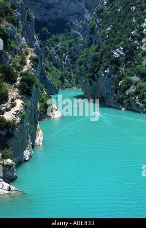 Gorges du Verdon, Alpes de Haute Provence Banque D'Images