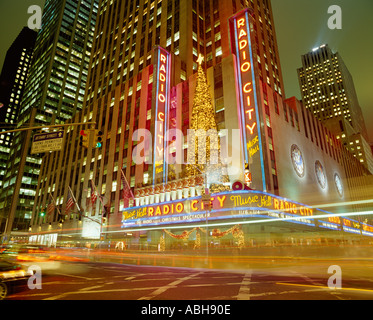 Radio City Music Hall de New York USA Banque D'Images
