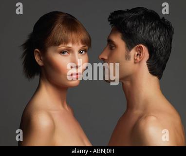 Portrait de couple Banque D'Images