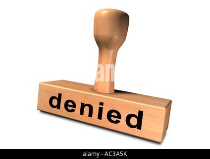 Stamp chop indenteur base punch pénétrateur Stempel refusé