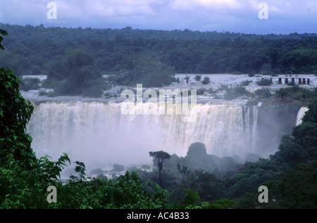 Chutes d'Iguaçu Brésil Banque D'Images