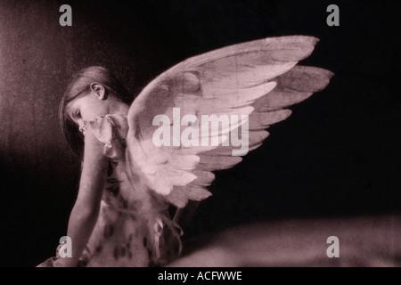 Photo d'un ange Banque D'Images