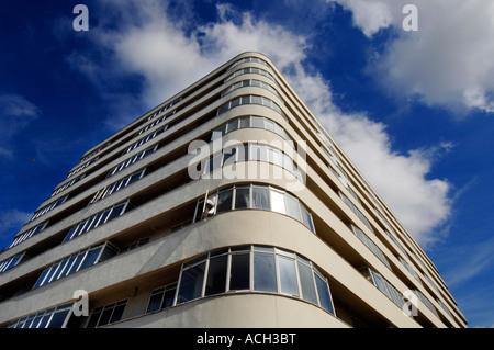 La 11 e année, récemment restauré, immeuble Art Déco liste Cour Ambassade Banque D'Images