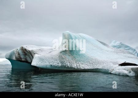Beau paysage dans la péninsule Antarctique Antarctique Banque D'Images