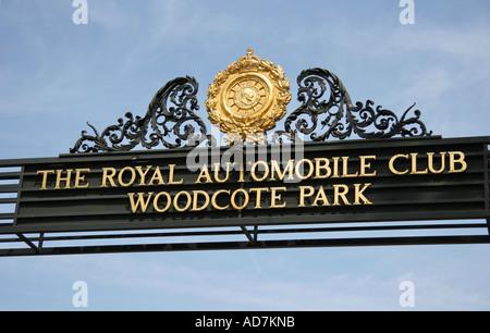 Club RAC Woodcote Park Surrey Epsom Banque D'Images