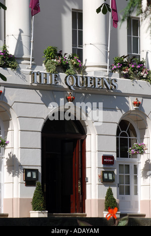 Le Queens Hotel Cheltenham, Gloucestershire, Spa, England, UK Banque D'Images