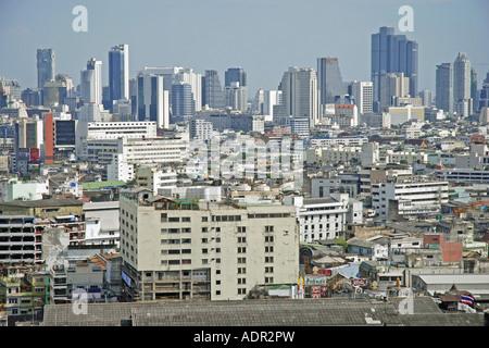 Regardez de l'Grand China Princess Hotel à Chinatown, le quartier indien, la Place Siam, Thaïlande, Bangkok, Ratchathewi Banque D'Images