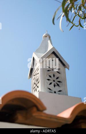 Cheminée en Algarve Portugal Europe Banque D'Images