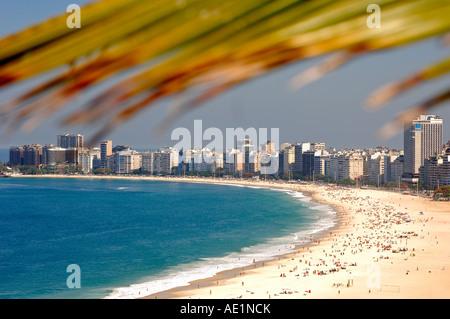 Copacabana Rio de Janeiro Brésil Banque D'Images