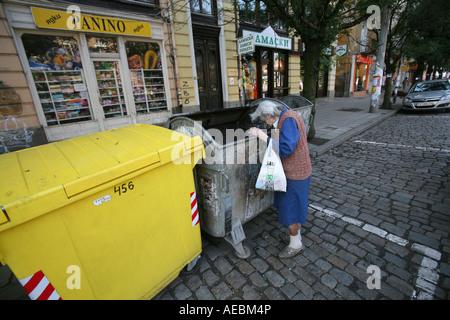 Sofia est la capitale de la Bulgarie où 10 pour cent de la population vit la ville est en plein essor Banque D'Images
