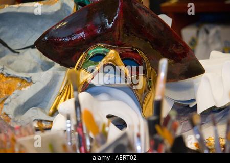 Maker's shop masque Venise Italie Banque D'Images