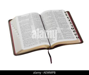 Une sainte Bible ouverte
