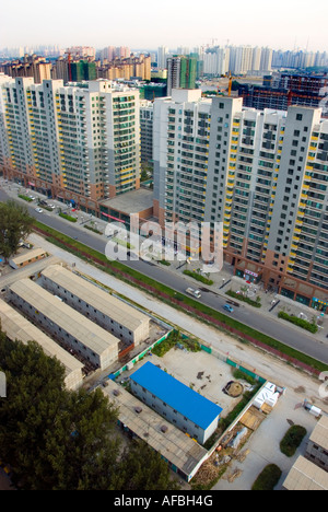 Beijing Chine, 'Nouvelle Architecture' 'Immeubles' 'En COnstruction' dans la partie orientale de la ville
