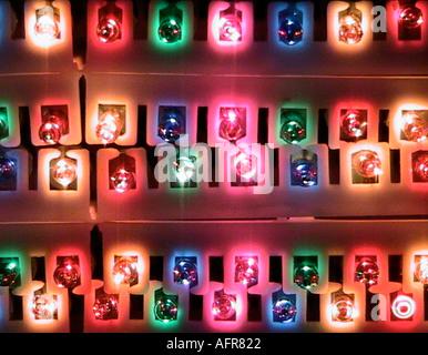 lumières 2 Banque D'Images