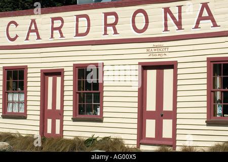 Cardrona hôtel à Queenstown ile sud Nouvelle Zelande Banque D'Images
