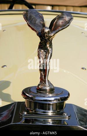 SSK79643 Vintage Car emblème de 1937 Rolls Royce Banque D'Images