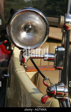 SSK79645 Côté Vintage Car la lumière de 1937 Voiture Rolls Royce Banque D'Images
