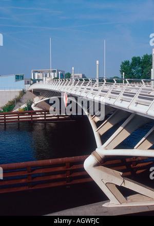 Pont / Berlin / Kronprinzenbruecke Banque D'Images