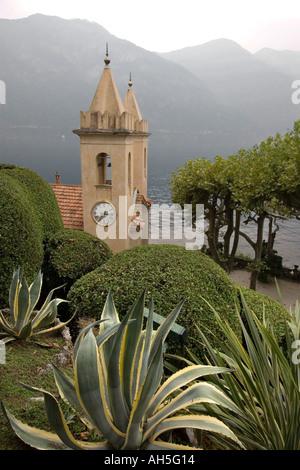 Villa del Balbianello, Lac de Côme, Lombardie, Italie. Utilisé comme un emplacement pour le film Star Wars II L'Attaque Banque D'Images