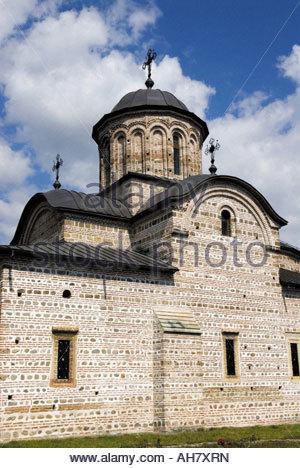 La Roumanie, la Valachie, Curtea de Arges, l'église princière de Saint Nicolas Banque D'Images