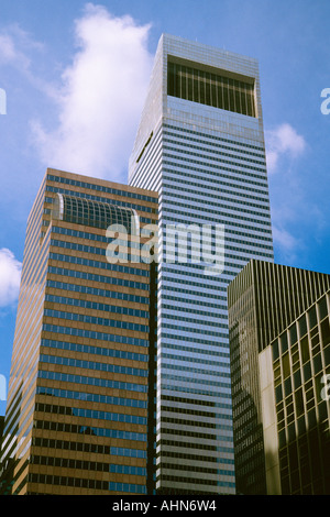 La ville de New York Citigroup Center Building Midtown Manhattan NEW YORK USA Banque D'Images