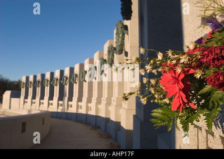 Monument commémoratif de la Seconde Guerre mondiale à Washington
