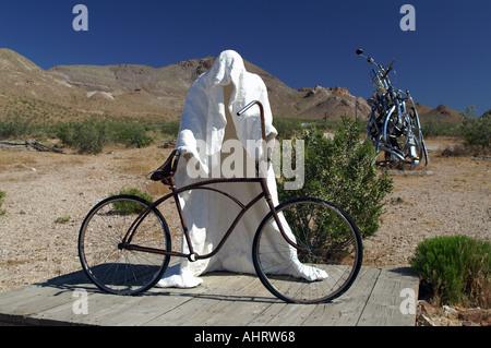 La ville fantôme de rhyolite NEVADA USA Banque D'Images