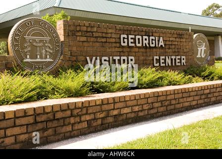 Centre des visiteurs de la Géorgie USA Banque D'Images
