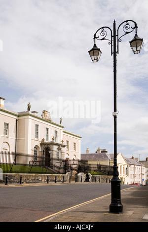 Royaume-uni Irlande du Nord County Down Downpatrick Le Centre Commercial Court House Banque D'Images
