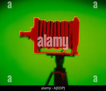 caméra Red Banque D'Images