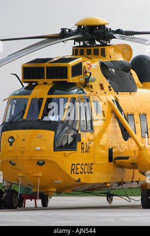 Hélicoptère de sauvetage en mer de l'air au repos Banque D'Images