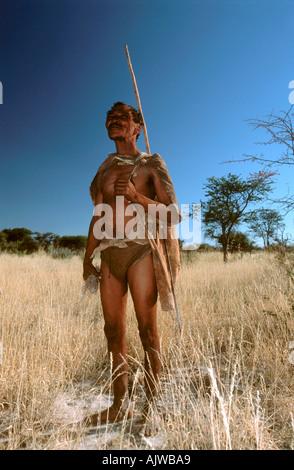 San Bushman Banque D'Images