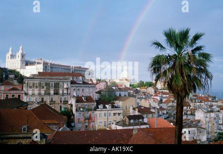 Lisboa Banque D'Images