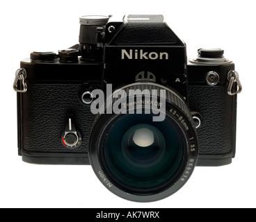 Nikon F2une caméra 35 mm Banque D'Images