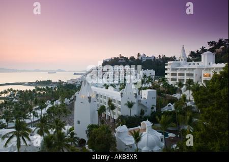 Le Mexique, la côte du Pacifique, Colima, Manzanillo, Brisas Las Hadas Resort Banque D'Images