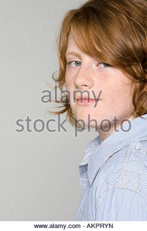 Portrait of a Teenage boy Banque D'Images