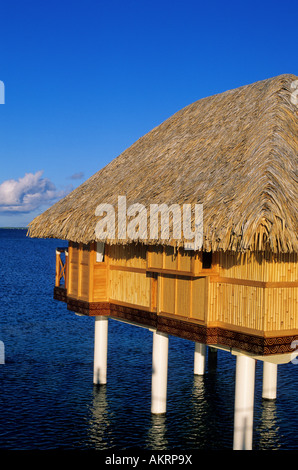 La France, la Polynésie française, archipel des Tuamotu, l'atoll de Manihi Pearl Beach Resort