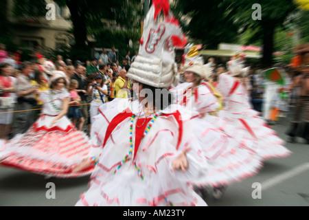 Carnaval des Cultures, Kreuzberg, Berlin, Allemagne Banque D'Images