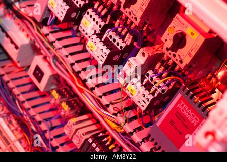 Composants électroniques, Close up Banque D'Images